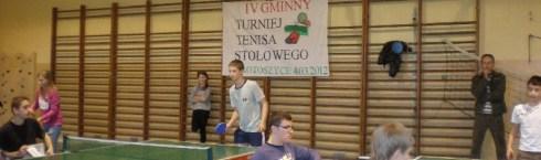 Gminny Turniej Tenisa Stołowego 2012